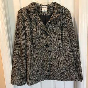 Old Navy Tweed Pea Coat